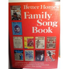 Better Homes and Gardens, Family Song Book, Hardcover