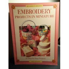 Embroidery projects in miniature - Readers Digest