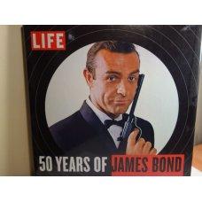 LIFE 50 Years of James Bond,Hardcover, LIFE Books